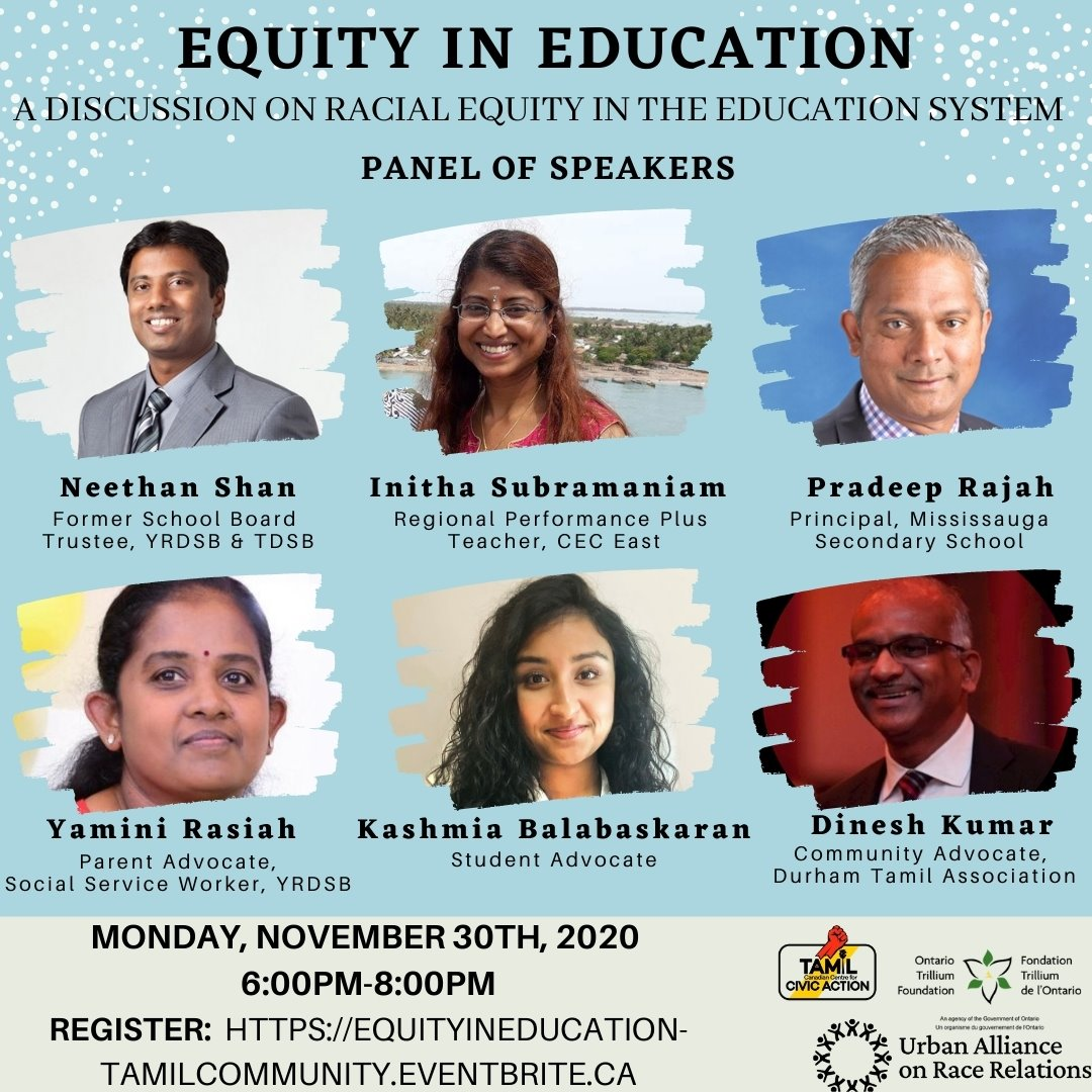 Equity in Education Tamil Community Forum
